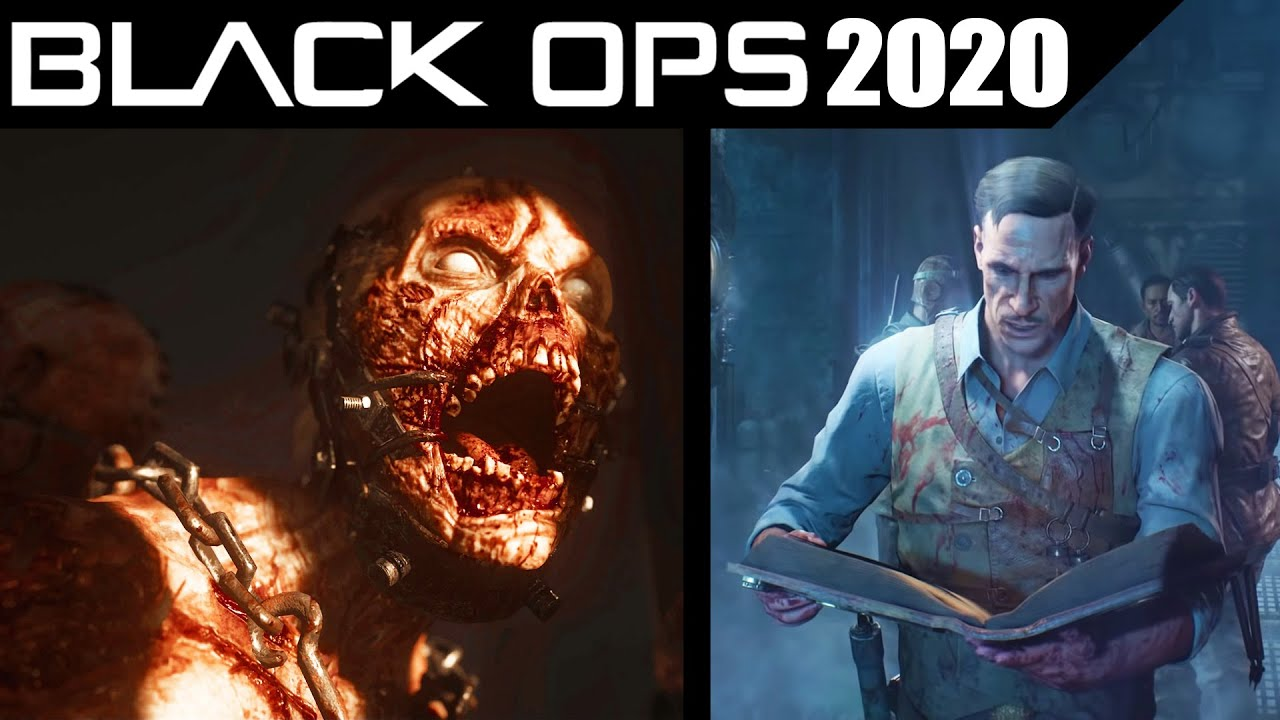 Call Of Duty 2020 Black Ops Cold War Zombies Leaked Info Horror