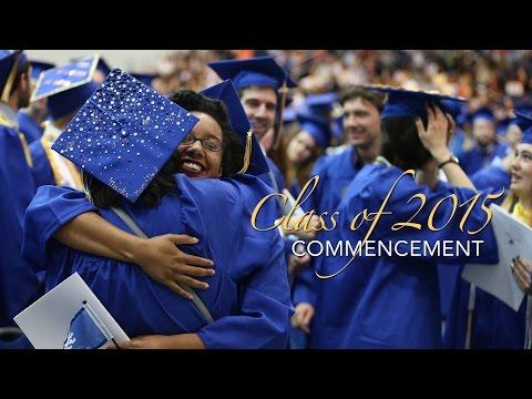 2015 Graduate Commencement - Hofstra University