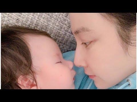 陳怡蓉慶生放送女兒超萌側臉 母愛大噴發因這件事想揍老公
