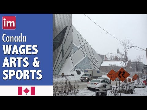 Salaries In Art, Culture, Recreation And Sports In Canada - Jobs In Canada