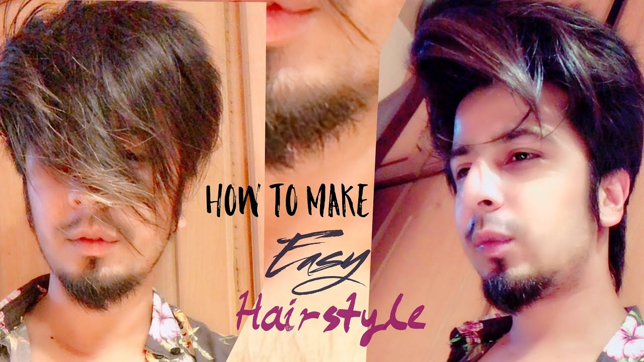 Easy Hairstyle Tutorial For Boys Sid Mr Rapper 2018