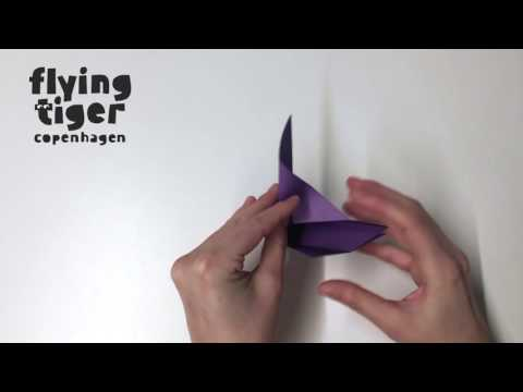 DIY Origami Bird