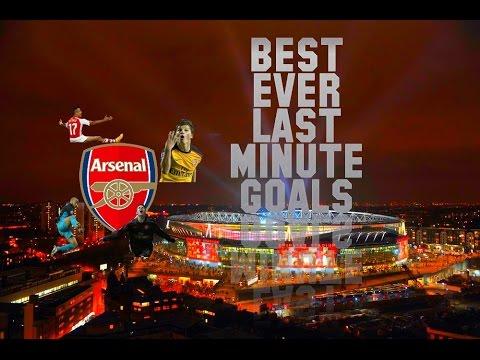 Arsenal FC - Best Ever Last Minute Goals - Volume 1