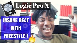 MAKING A BEAT IN LOGIC PRO X ON THE AKAI MPK 261