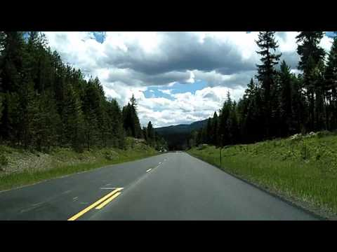 US 93 In Montana: Southbound Eureka To Whitefish, Columbia Falls