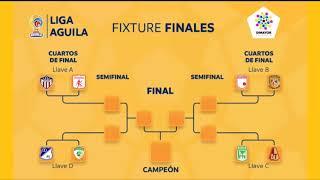 Estas son las llaves de los cuartos de final de la Liga Águila