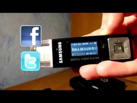 Rozpakowanie i Opis MP3 YP-U2