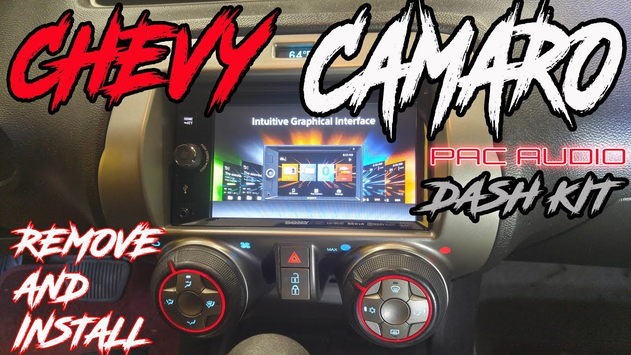 [DIAGRAM_38IU]  2010 CHEVY CAMARO PAC AUDIO DASH KIT/ HARNESS - RADIO INSTALL AND REMOVAL  OF FACTORY RADIO - YouTube | Alpine Wire Harness Car Gauges |  | YouTube
