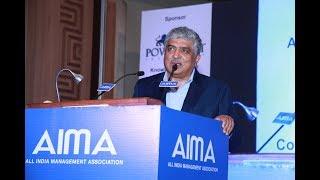 'Disrupting the Disrupter' -  Nandan Nilekani at AIMA's 62nd Foundation Day (Full Session) thumbnail