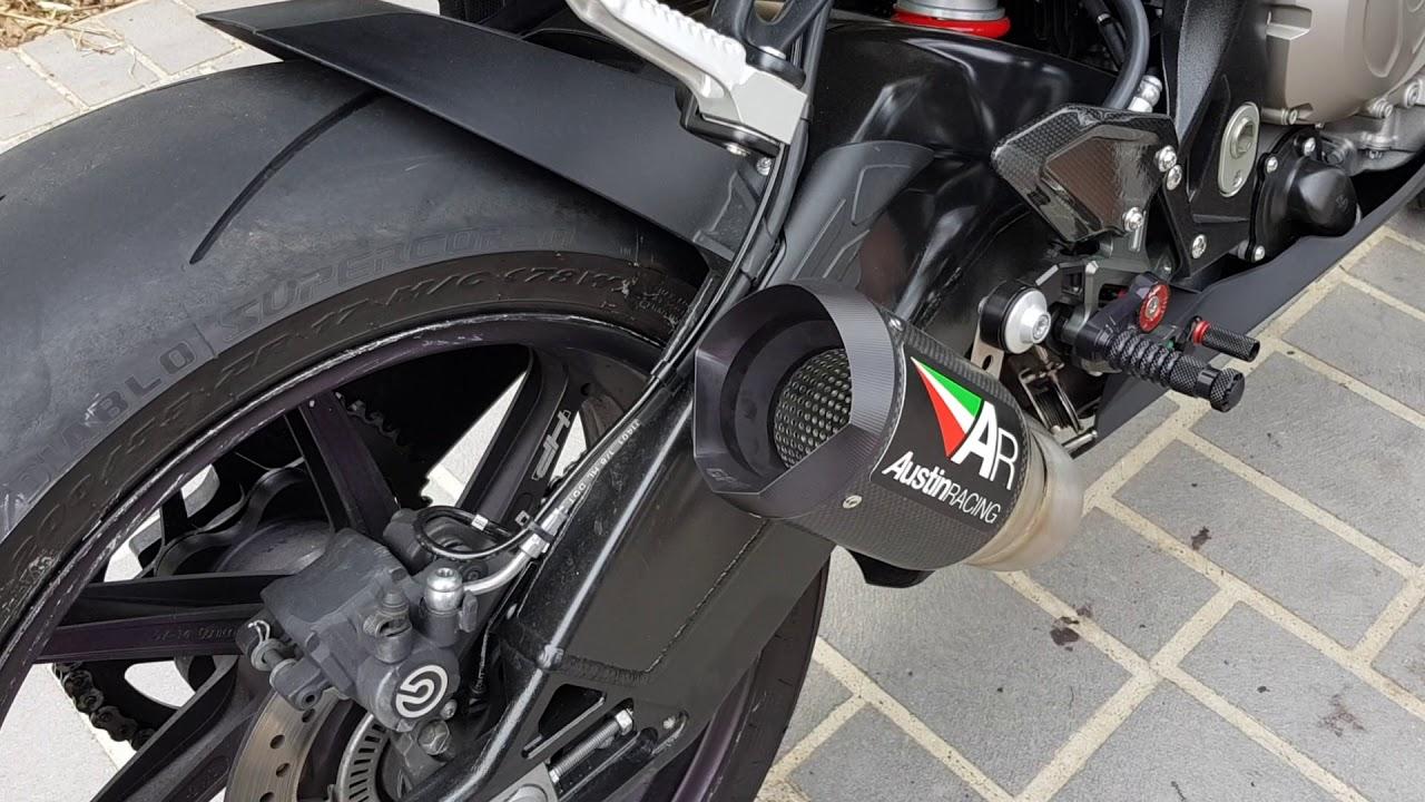 BMW 2015 S1000RR Austin Racing GP 1 Exhaust