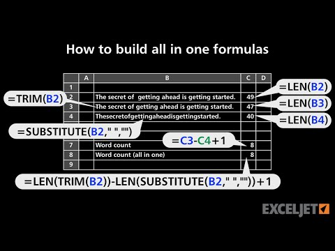 How to build all in one formulas