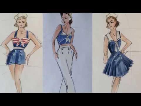 Designing Broadway: DAMES AT SEA Costume Designer David C. Woolard