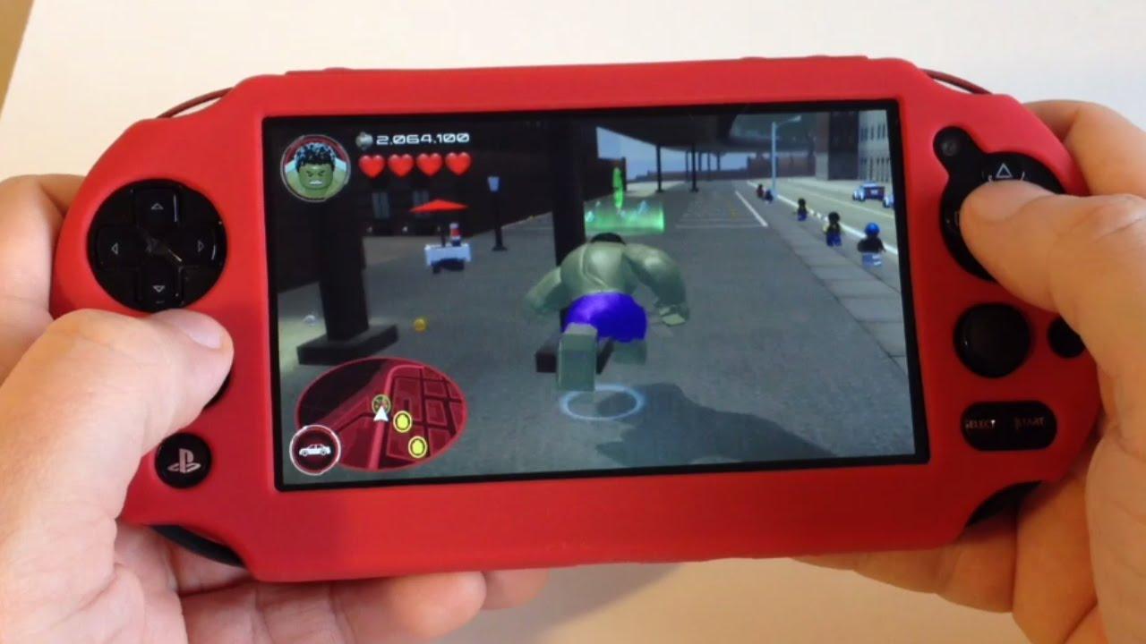 Lego Marvel Avengers Ps Vita Open World Gameplay Youtube