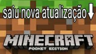 Saiuuuuuu download nova atualização minecraft pe 1.1.1 beta 2 do minecraft pe pocket editon