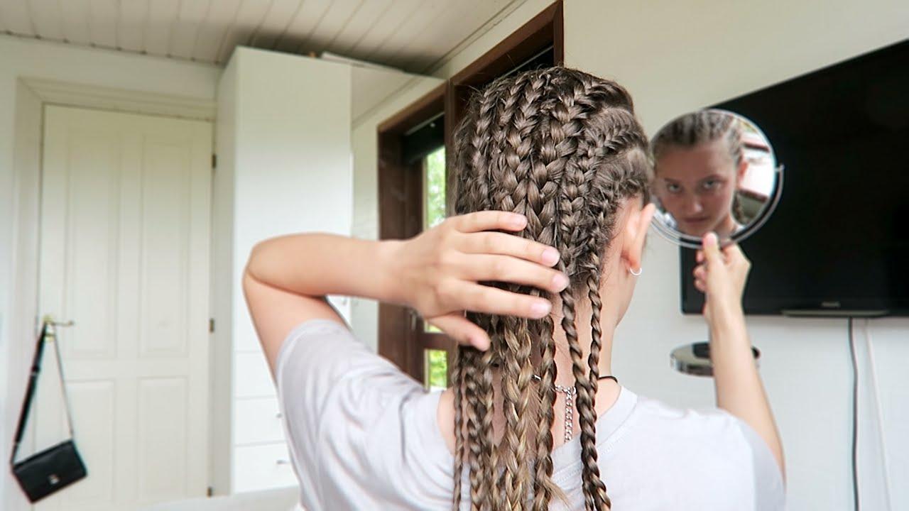 hvordan fletter man hår