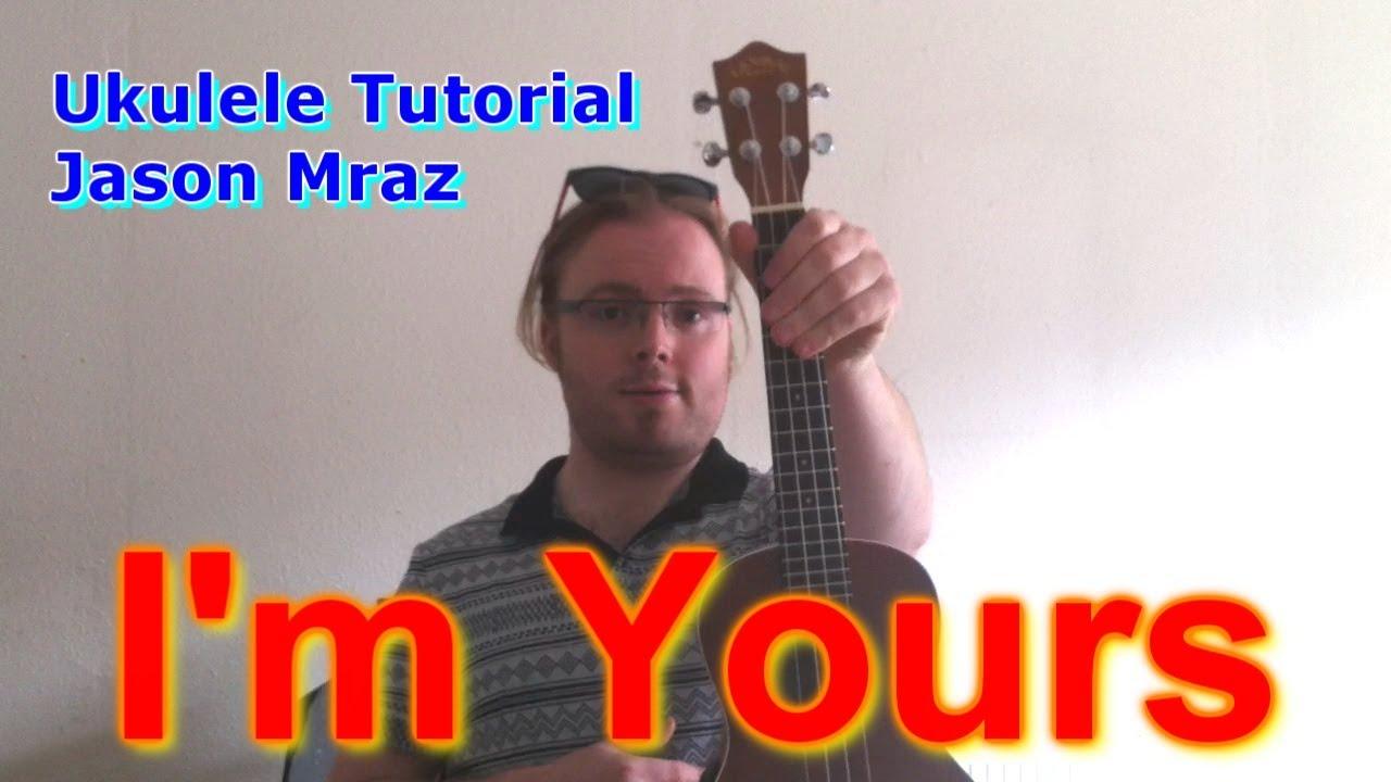 Im yours jason mraz ukulele tutorial youtube hexwebz Gallery