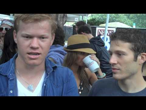 ACL 2009  with Friday Night Lights Actors Zach Gilford and Jesse Plemons