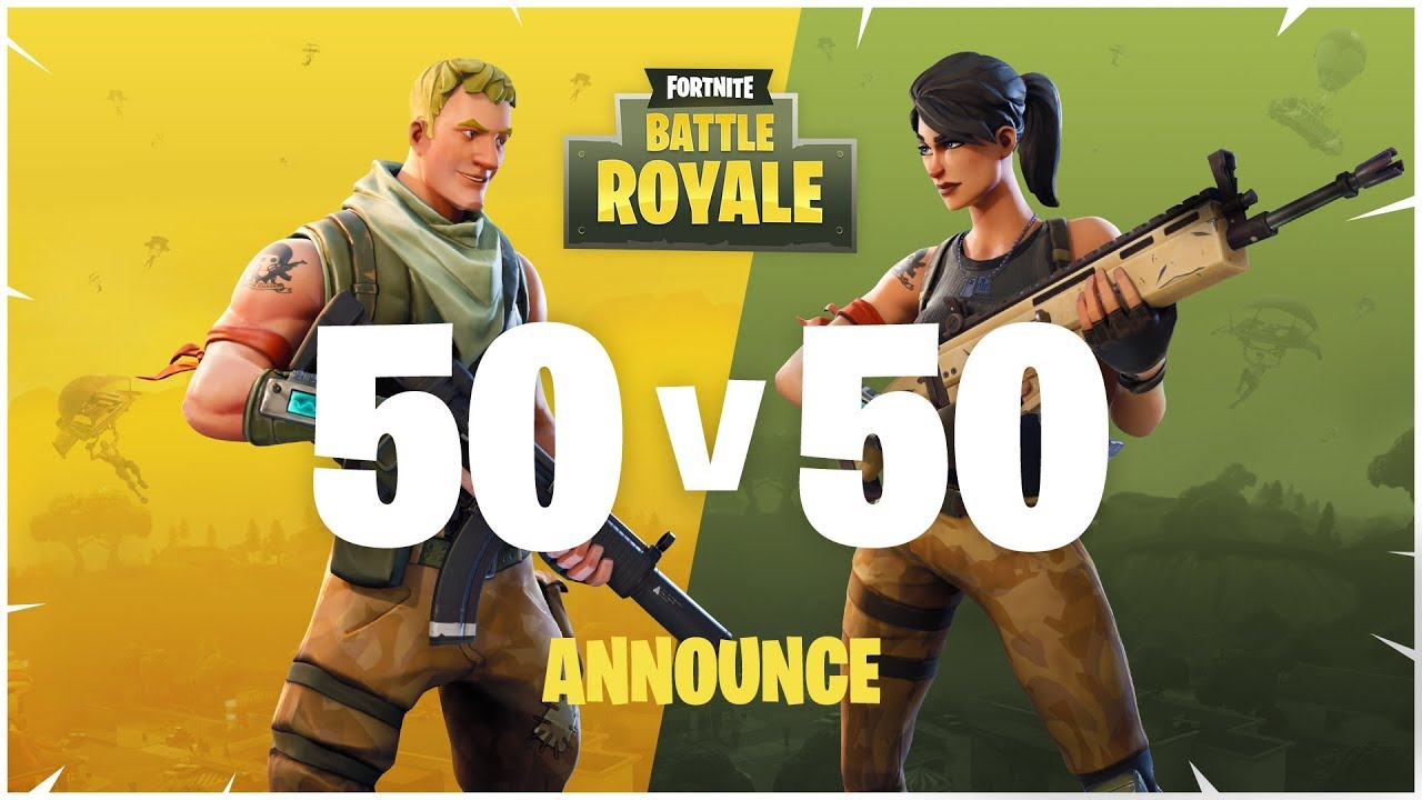 Hit Up the Group Chat! 'Fortnite Battle Royale' Adds 50 vs  50 Mode
