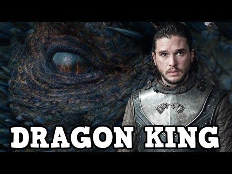 Game of Thrones Season 7 Jon Snow Targaryen - The Dragon King