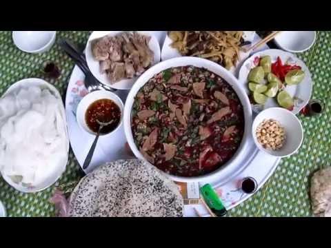 Cách làm tiết canh ngan (Caucaquangbinh.com)