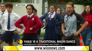 Students perform traditional haka to mourn Christchurch shooting victims