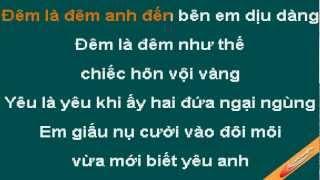 Mot Gio Sang Thuy Tien Karaoke - CaoCuongPro