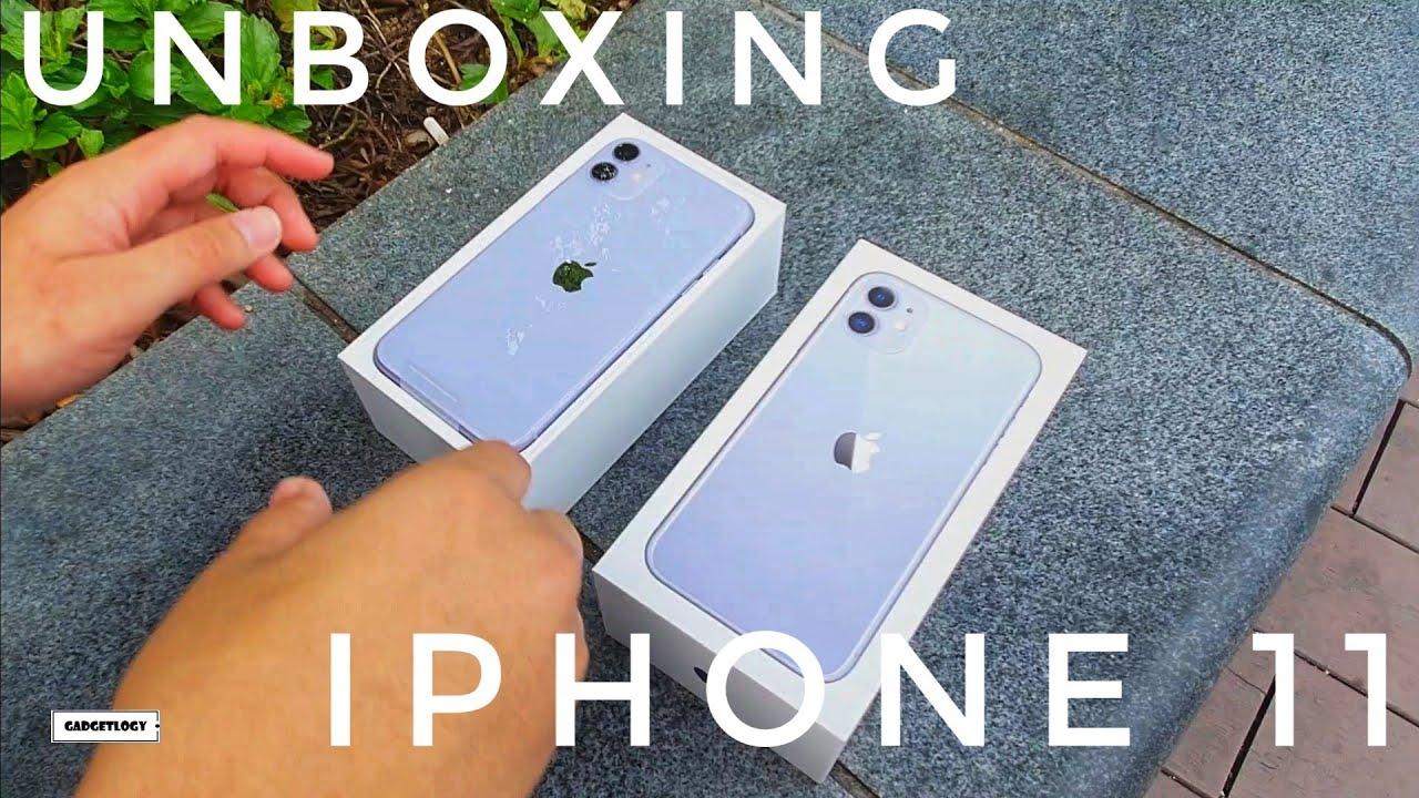 Unboxing Iphone 11 Purple Ungu Indonesia