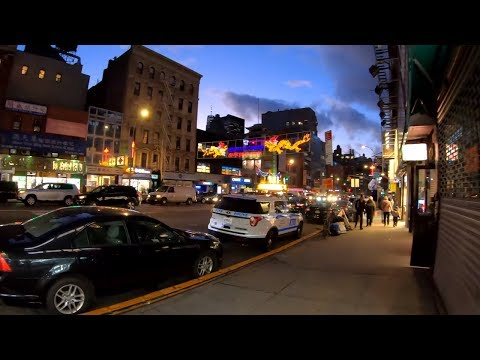⁴ᴷ⁶⁰ Walking NYC (Narrated) : Canal Street, Manhattan in its Entirety from Chinatown to Hudson River