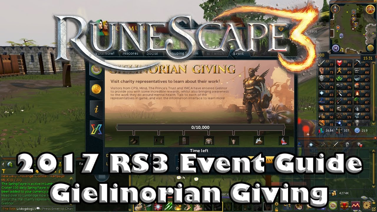 Rs3 Halloween Event 2020 RS3 Event Guide #2   Gielinorian Giving   Fastest Ways to get