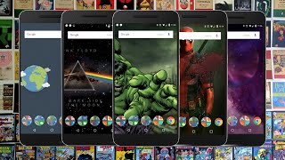 10 EPIC 3D Wallpaper Themes for Android | Deadpool, RainStorm and More!