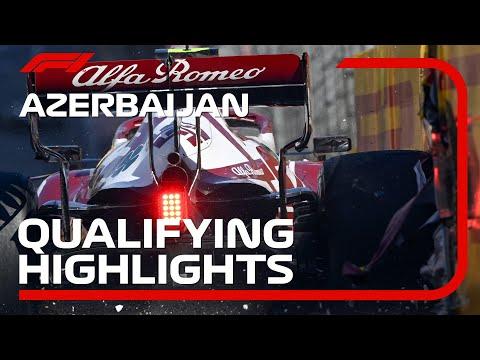 Qualifying Highlights: 2021 Azerbaijan Grand Prix