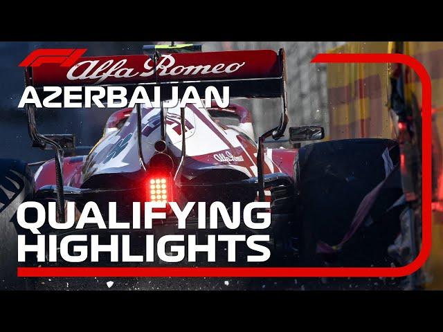 Qualifying Highlights   2021 Azerbaijan Grand Prix