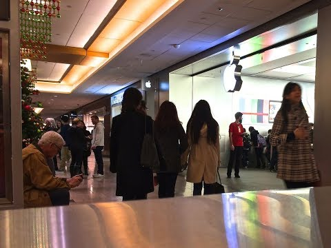 Apple Store Pacific Centre - IPhones, IPads, MacBooks, Accessories And More! (Closer Look)