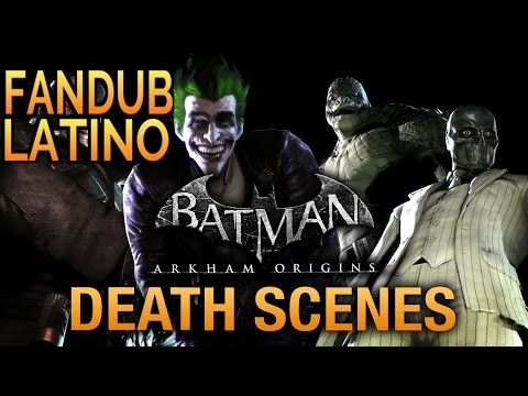 Batman: Arkham Origins - Escenas de Game Over (Fandub Latino) |