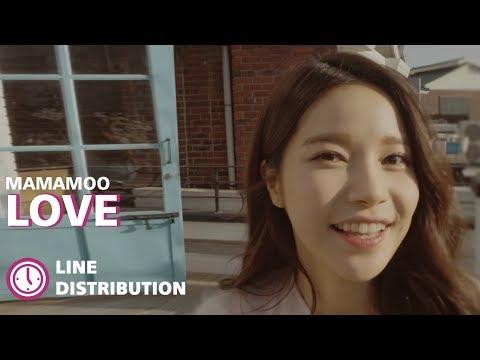Mamamoo - LOVE (OST Goblin) [Line Distribution]