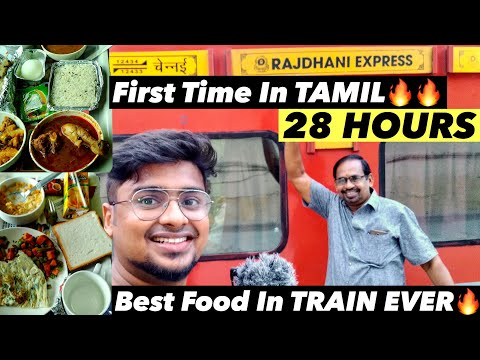 1AC Cabin Rajdhani Express |First Time in Tamil|  Full Journey|Chennai Rajdhani Train Review| Part 1