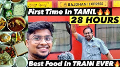 Expensive ₹15000 Train Ticket For 3 |Subtitled | RAJDHANI EXPRESS 1AC Cabin Chennai Rajdhani |Part 1