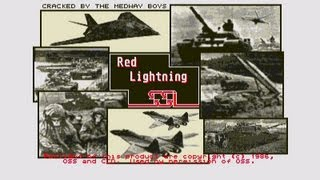 Red Lightning by SSI for the Atari ST, Trusteft