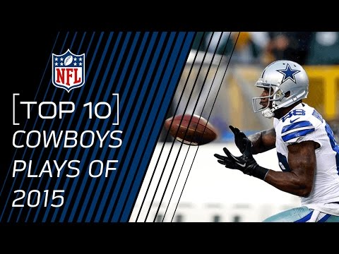 Top 10 Cowboys Plays of 2015 | #TopTenTuesdays | NFL