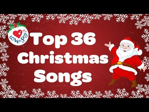 Top 36 Popular Christmas Songs And Carols Playlist Youtube