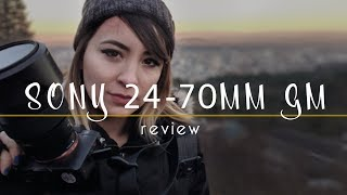 MY NEW FAVORITE LENS!? | SONY 24-70mm G MASTER | review | atolavisuals