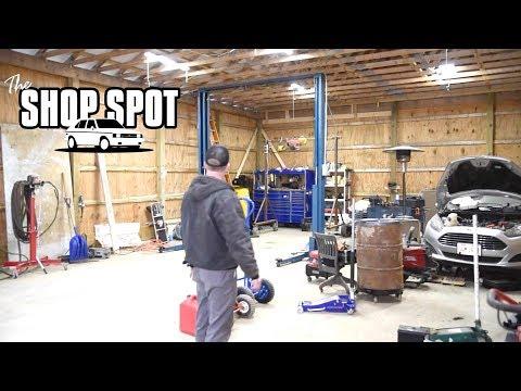 Mike's new 30x48' Pole Barn Garage - The Shop Spot