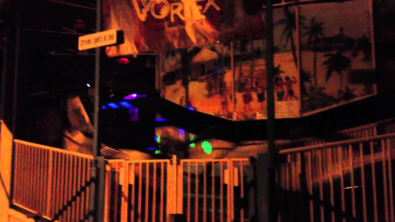 Voodoo Vortex Full Lighting Six Flags New England Fright Fest 2012