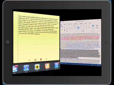 Parallels Access for iPad official demo video   Engadget