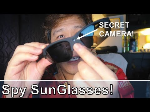 Spy SunGlasses Review - With Build-in FHD Camera!