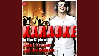 Trains and Boats and Planes (In the Style of Billy J. Kramer and the Dakotas) (Karaoke Version)