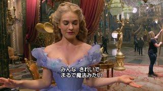 圧倒的映像美で贈る、魔法と勇気の物語! 2015年大ヒットディズニー映画...