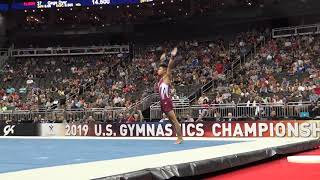 Yul Moldauer - Floor Exercise - 2019 U.S. Gymnastics Championships - Senior Men Day 2