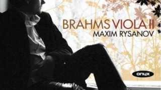 Brahms Song Gestillte Sehnsucht (Stilled Longing) Op 91 Coote Rysanov Wass