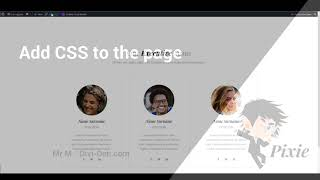 Pixie General Overview How to Change Colours Update Styles and Use Master CSS File